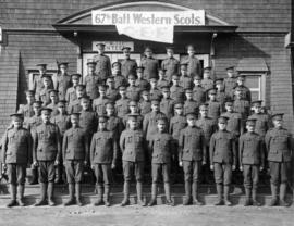 67th Battalion Western Scots, C.E.F.