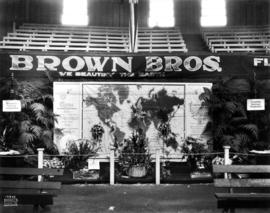 Brown Bros. floral display