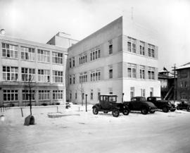 [Exterior of T.B. Hospital at 2647 Willow Street]
