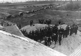 [A foundation laying ceremony at U.B.C.]