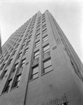 [The facade of the Marine Building]