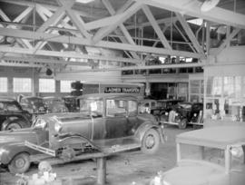 [Interior of Boultbee, Ltd. auto parts and service, 999 Seymour Street]