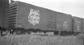 [New York, New Haven and Hartford Boxcar #34406]