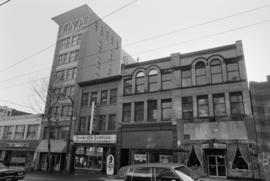 146, 148-150, 152-156 West Hastings Street