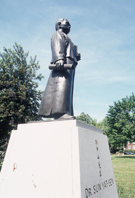 Dr. Sun Yat-sen statue at Riverdale Park in Toronto