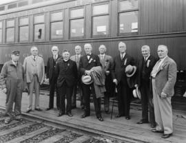 Engineer William (Billy) H. Evans and Committee of Vancouver Pioneers Association