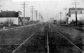 [View of] Main St. and 51st Ave. looking north
