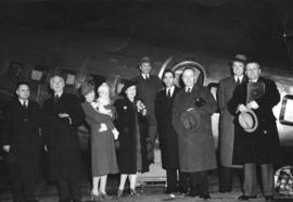 Passengers on the First Revenue Flight of Trans-Canada Airlines