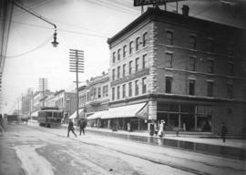 Granville Street, south of Dunsmuir Street
