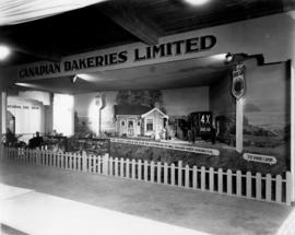Canadian Bakeries display of 4X brand bakery products