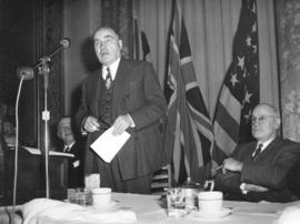 [Mr. H.R. MacMillan speaking at a Vancouver Board of Trade luncheon]