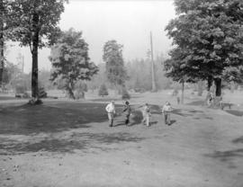 Golf course in Stanley Park