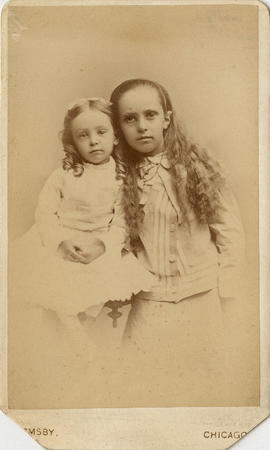 [Winifred Mabel Pierce and Annie Louise Pierce (Taylor)]