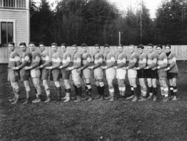 King Edward [High School] Rugby Team 1923 - 1924 Mainland & B.C. [High School] Champs, Winner...