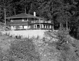 [Exterior view of Haulterman House on Bowen Island]