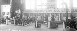 [Interior show room display of Alamo Farm Light Plant Dairy Machinery Co. Ltd.]