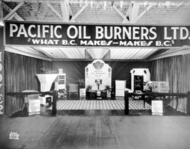 Pacific Oil Burners display of furnaces