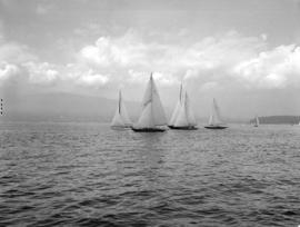 Feature race at Royal Vancouver Yacht Club