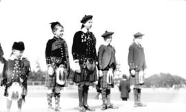 Caledonian Games [boys in kilts]