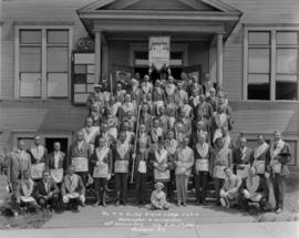 Negro Masonic Lodge [and members] - The M.W. United Grand Lodge R. & A.M. Washington & Ju...