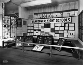 Vancouver Night Schools display