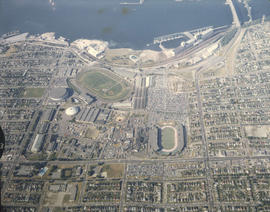 Aerial of P.N.E. grounds