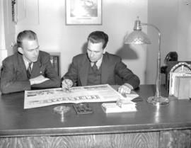 Hudson Bay Company - [Mr. Michel and Mr. Casher at desk]