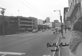 Beatty and Pender [streets looking] west