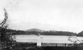 [View of Sea Otter Cove from Captain Peterson's residence]