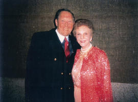 Hugh Pickett and Mary Martin