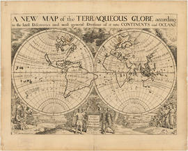 A new map of the terraqueous globe