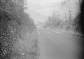 Taken for Duker and Shaw Ltd., billboard advertising  [road scene possibly north Surrey looking t...