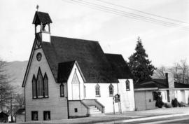 [Exterior of St. John's Anglican Church]