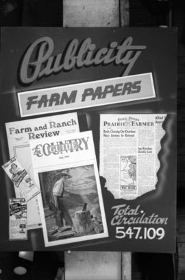 [Poster for Publicity Farm Papers]