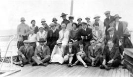 West Coast trip [with Sherwood Lett, Arthur Lord, W.O. Banfield] : Some of our fellow passengers