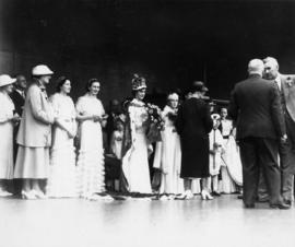Jubilee Queens and Maids of Honor, Stanley Park, Aug. 14th