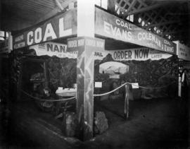 Evans, Coleman and Evans display of Nanaimo Coal