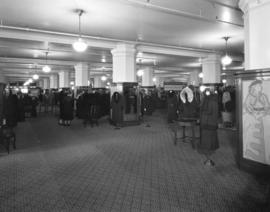 Hudson's Bay Company [interior of store at 674 Granville Street]