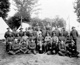 B.C. [Rifle] Team [and trophy], D.R.A.