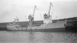 M.S. Ferm [at dock]