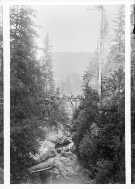 Second canyon bridge, Capilano