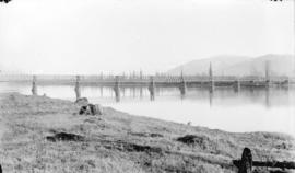 View of Mission Branch Bridge, C.P.R., from the north side of Mission