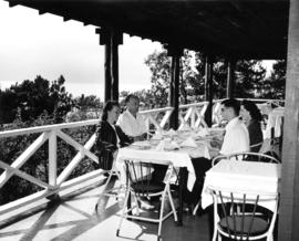 [Verandah restaurant at Cliffhouse]