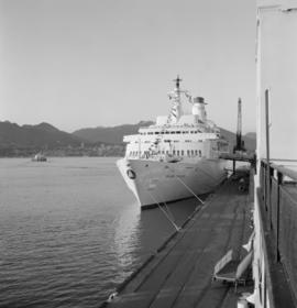 The Island Princess at dock