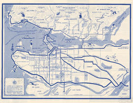 Visitors map of Vancouver