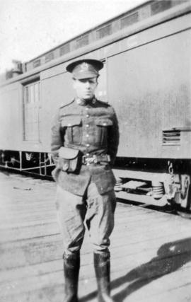 """Charlie"" [soldier accompanying the Chinese Labour Corps]"