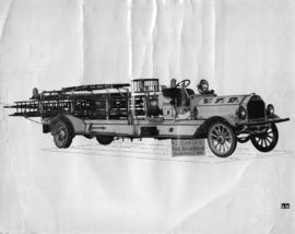 Delivery photo of 1914 Seagrave C.S.T.
