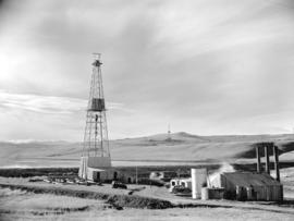 Turner Valley Oil Well