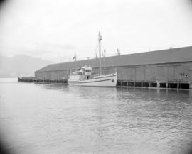 "[The ""St. Roch"" at dock]"