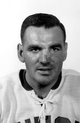 Bob Robertson : [of the Vancouver Canucks, portrait]